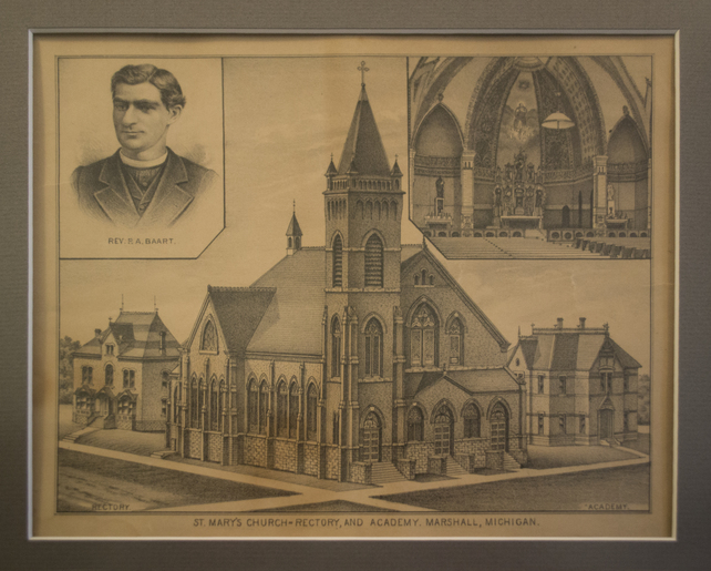 Rev. R.A. Baart and St. Mary Church Rectory and Academy